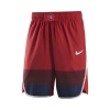 Image for 2019 Arizona Wildcats Nike Basketball Authentic Shorts - Red