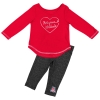 Image for Colosseum: Arizona Infant Long Sleeve & Metallic Legging Set