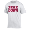 Image for Champion: BEAR DOWN White Tee