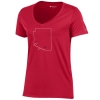 Cover Image for Champion: Arizona LIVE LOVE Women's University Tee - Grey