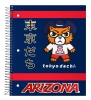 Image for Notebook: Arizona Tokyodachi 1 Subject NoteBook Navy