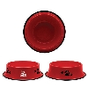 Image for Neil Enterprises: Arizona Team Logo Metal Pet Bowl - Red