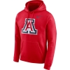 Image for Nike: Arizona Club Fleece Men's Pullover Hoodie - Red
