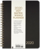 Image for Peter Pauper Press 2020 Dot Matrix Weekly Planner - Black