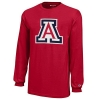Image for Champion: Arizona Youth Logo Long Sleeve Jersey Tee - Red