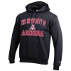 Image for Champion: University of Arizona ECO POWERBLEND Hoodie-Black