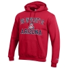 Image for Champion: University of Arizona ECO POWERBLEND Hoodie - Red