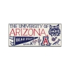 Image for Magnet: Arizona Graphic Wood Magnet Small