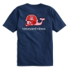 Image for Vineyard Vines: Arizona Whale Helmet Pocket T-Shirt-Navy