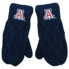 Image for ZooZatz: Arizona Women's Cable Knit Mittens - Blue