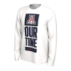 Image for Arizona Basketball OUR TIME Bench Long Sleeve Tee