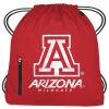 Image for Arizona Wildcats Drawstring Big Muscle Sports Backpack - Red