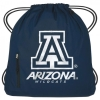Image for Arizona Wildcats Drawstring Big Muscle Sports Backpack- Navy