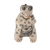 Image for Cochiti Funny Frog Pottery By Flower