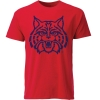 Image for Ouray Sportwear: Arizona Big Wildcat Face - Red