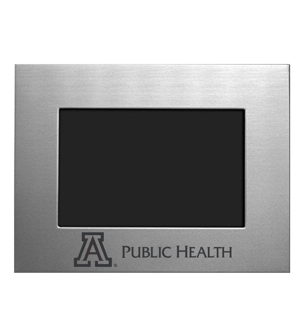 Frame: Arizona Public Health 5x7 Silver Inlay | University of ...