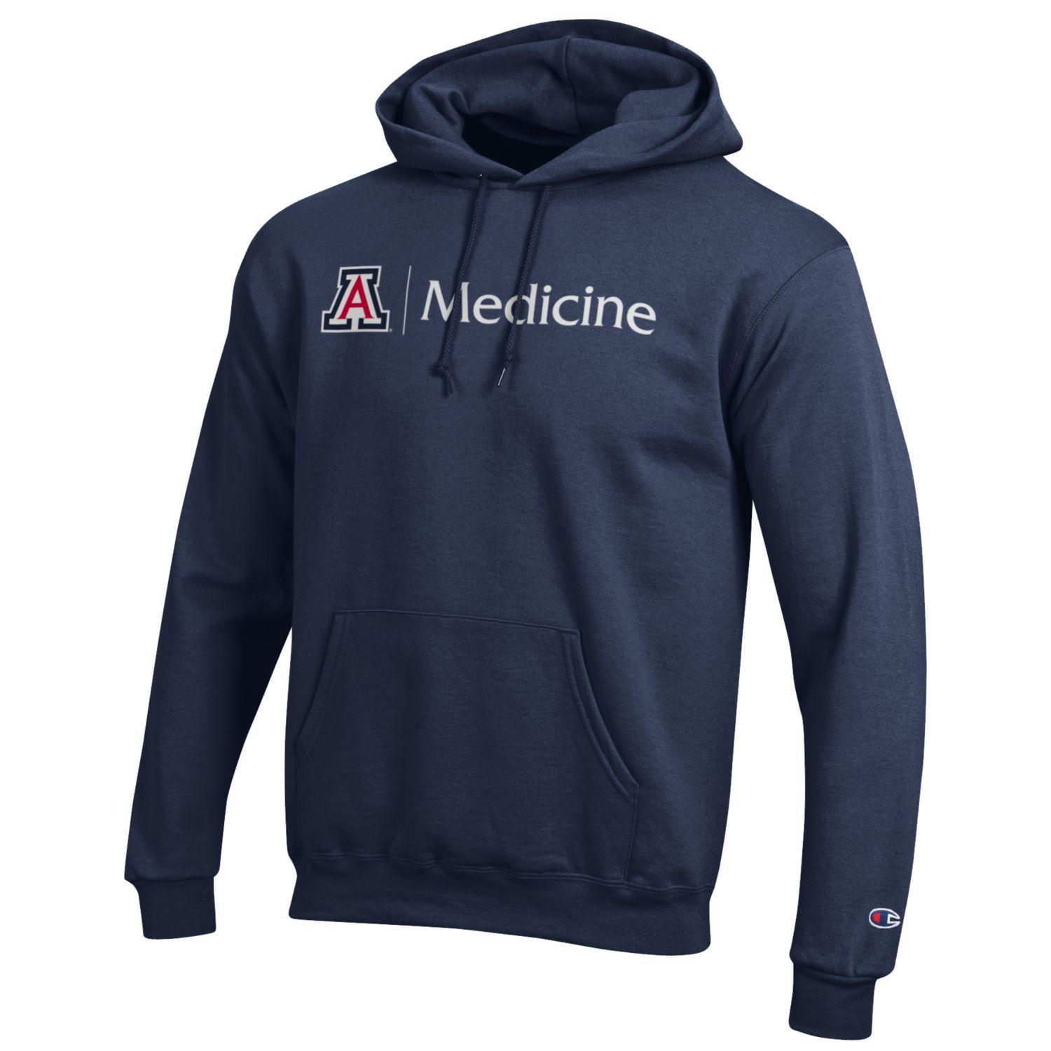 Champion: Arizona 'A' Medicine Hoodie Navy