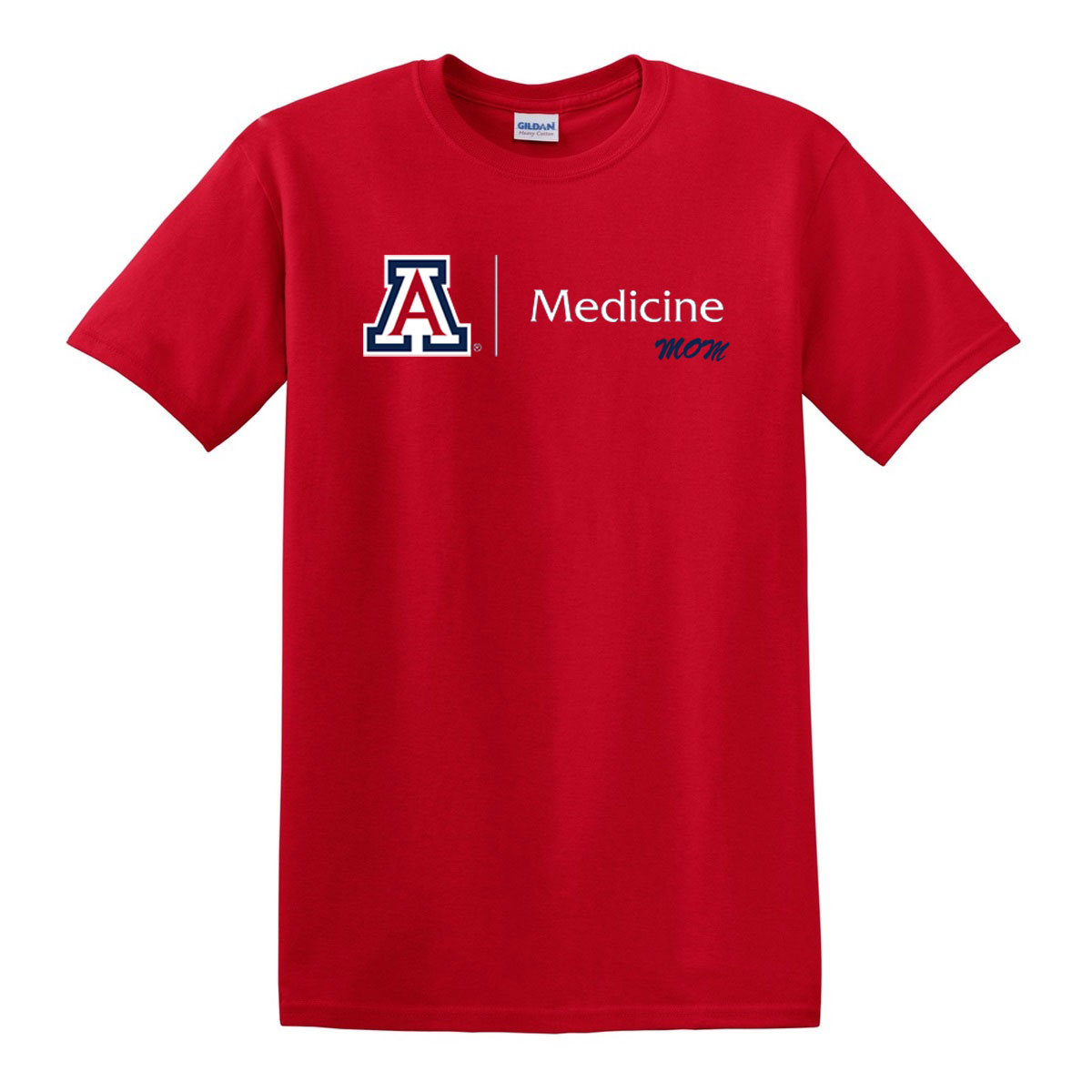 Arizona The College Of Medicine Mom Red Tee