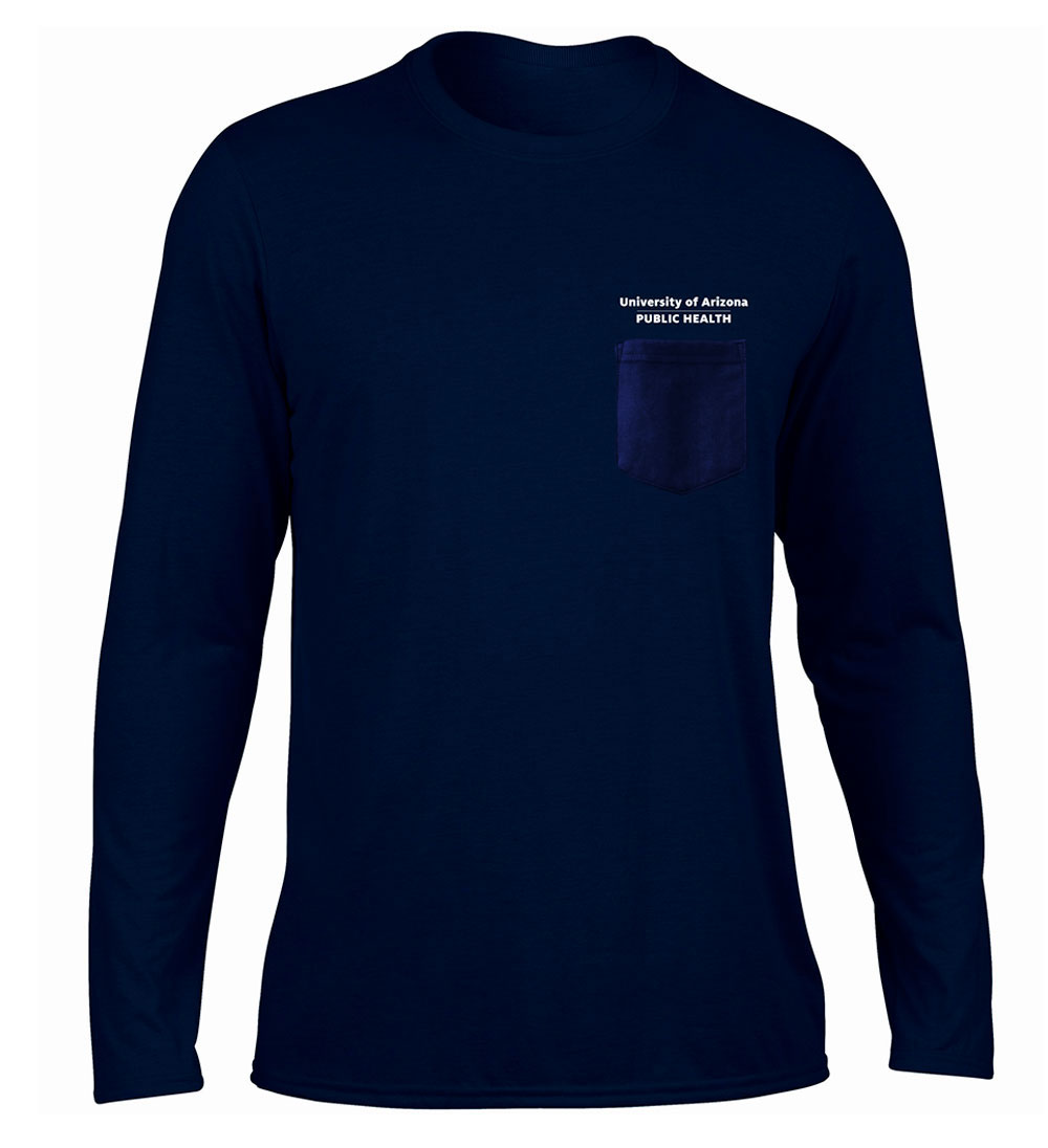 Arizona Wildcats College of Public Health Long Sleeve Navy