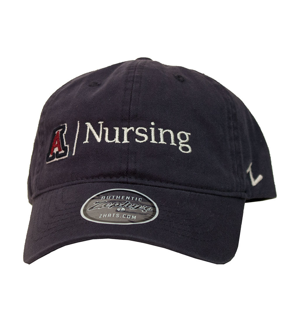 Zephyr: Arizona Nursing Scholarship Cap-Navy Washed
