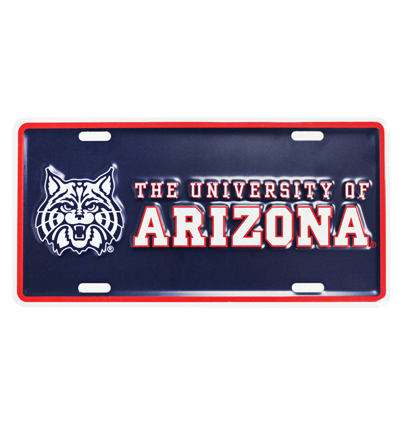 Image For License Plate Frame: 'Wildcat' Big<BR>The University of AZ