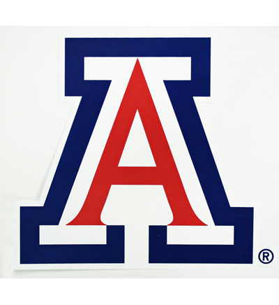 Image For Decal: Arizona Logo Block 'A'