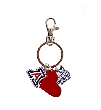 Image For Keychain: UA Charm Key Tags