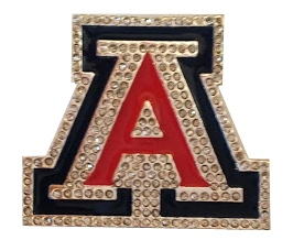 Cover Image For La Diva Sport: Arizona Crystal Enamel Pin