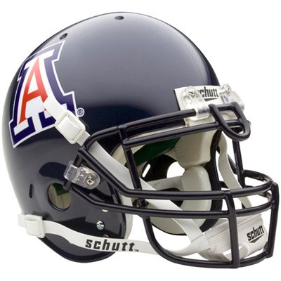 Cover Image For Replica Arizona Navy Football Helmet Full Size