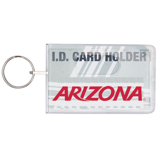 Image For ID Holder: Arizona Rigid ID Holder W/Key Ring