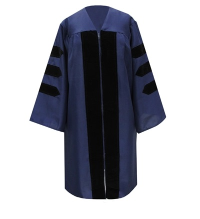 Image For Law Student Graduation Regalia Gown