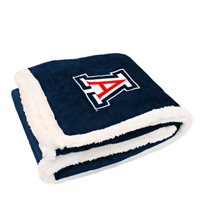 Image For Blanket: 'A' Arizona Sherpa