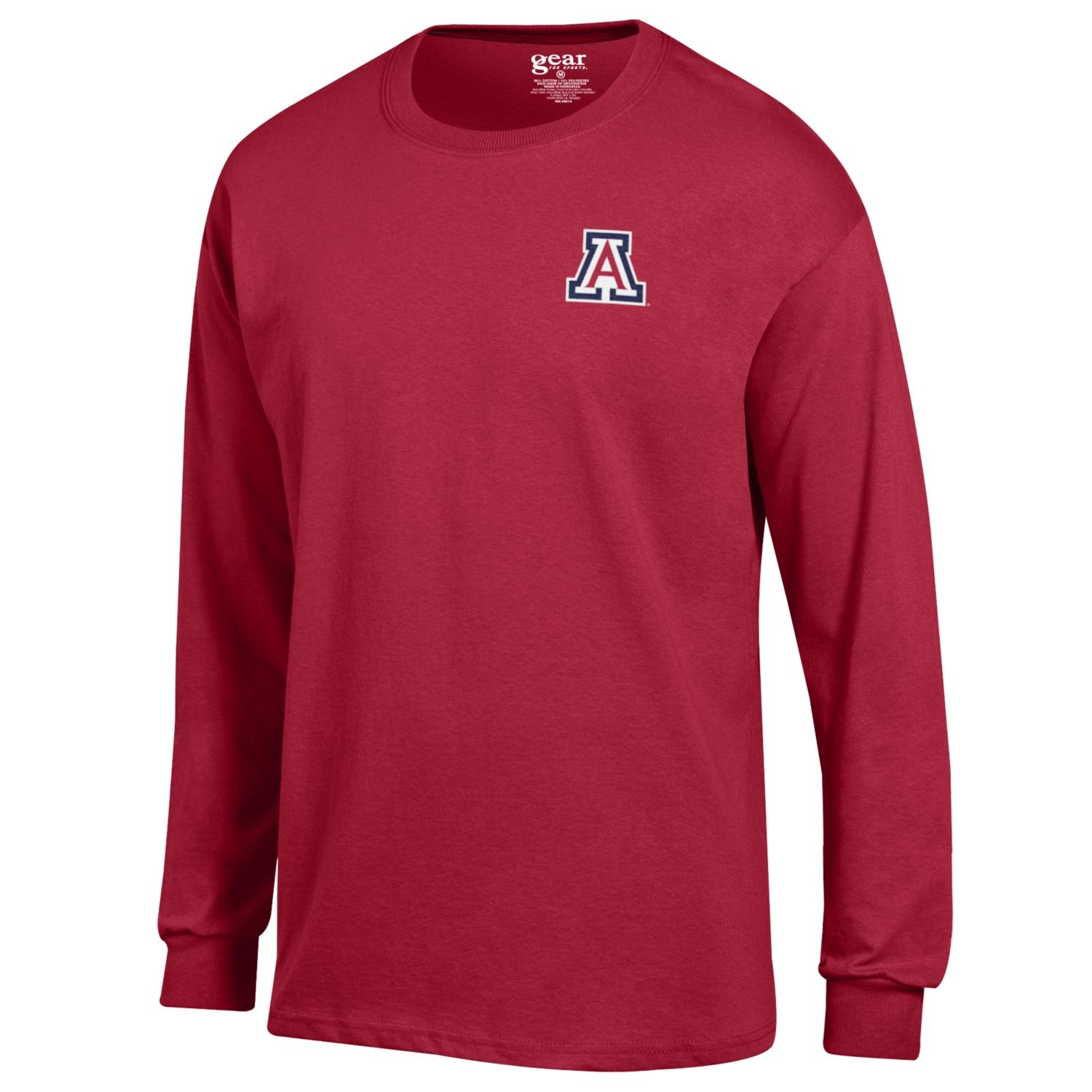 Image For Gear: Arizona Basic Long Sleeve Tee-Red