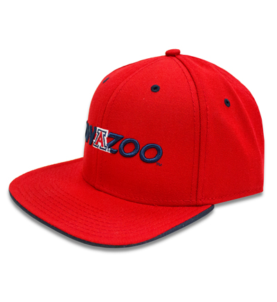 Image For The Game: Zona Zoo Snapback Cap - Red