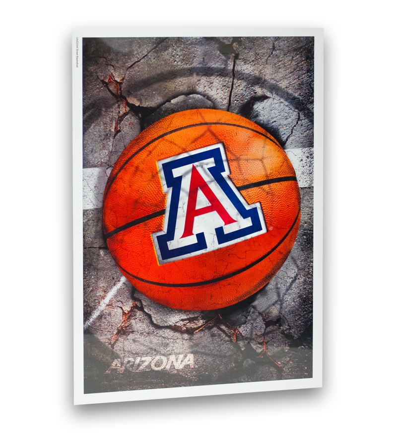Image For Poster: 'A' Basketball Concrete