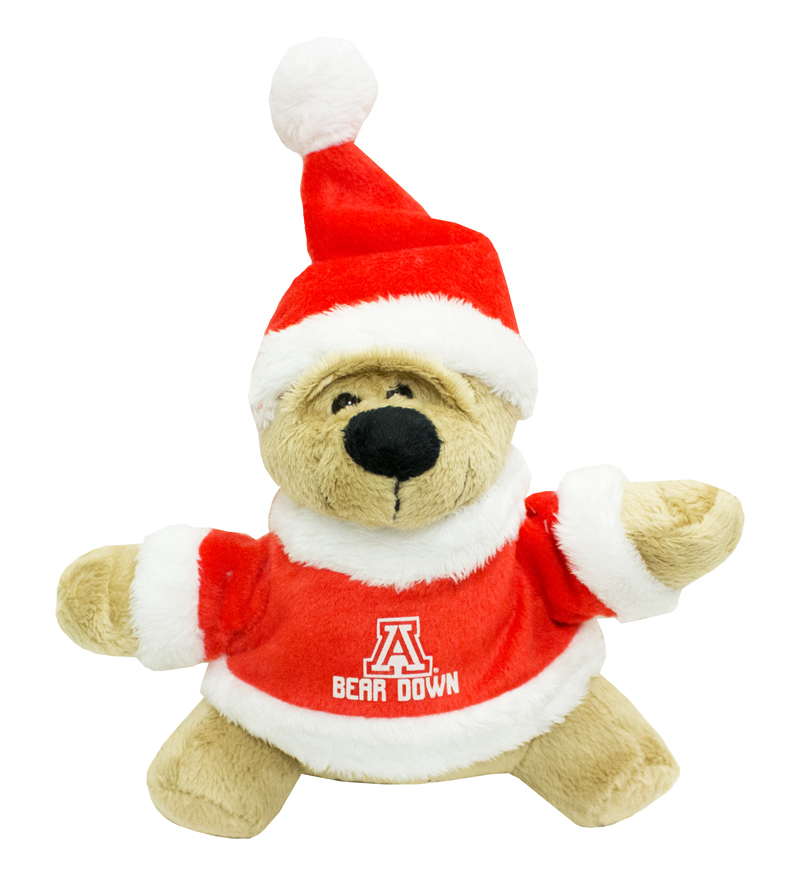 Image For Plush Santa Clause Bear