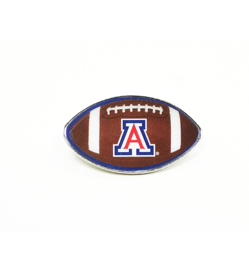 Image For Pin: 'A' Football Lapel