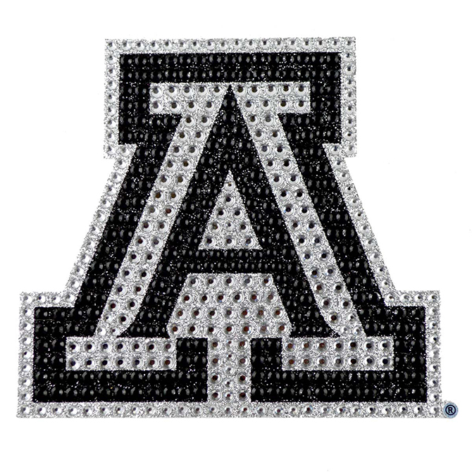 Image For Bling Arizona Emblem Adhesive Decal