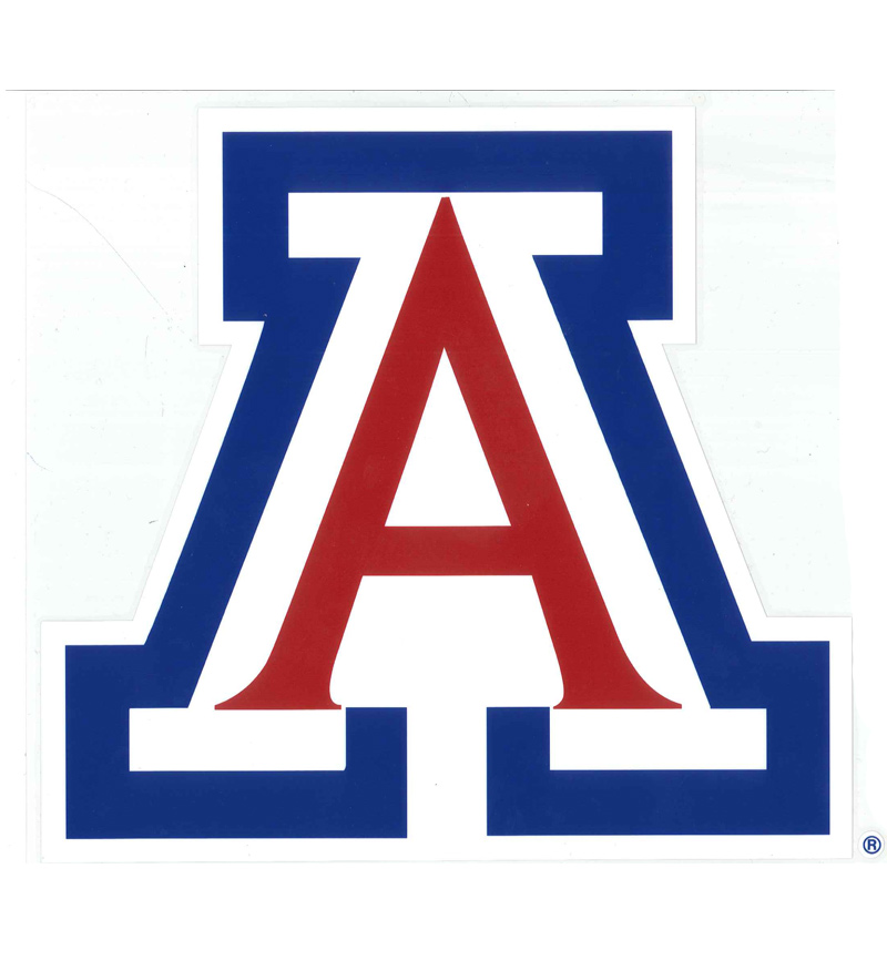 "Image For DECAL: Arizona Logo 10"" x 10"" 3 Color"