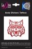 Cover Image for Temporary Tattoo: Arizona Wildcats - Glitter Red