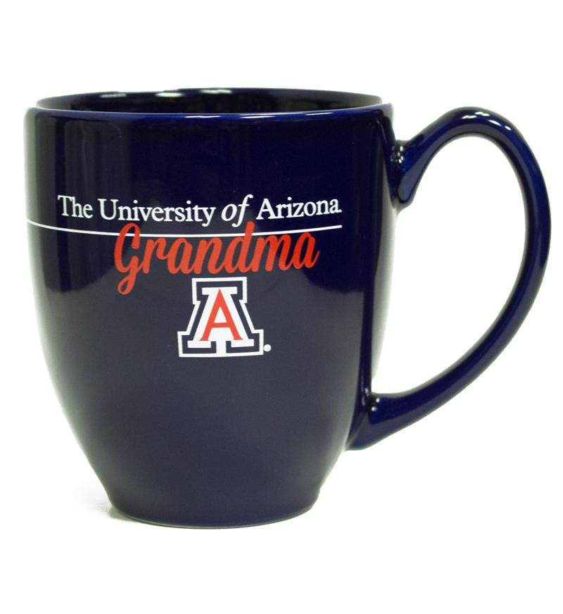Image For Coffee Bistro Mug: University of Arizona Grandma