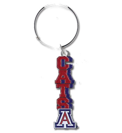 Image For Keychain: Arizona CATS Key Tag