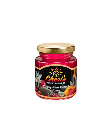 Image For Cheri's Desert Harvest: Prickly Pear Cactus Honey 5.4oz.
