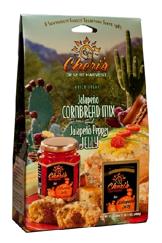 Image For Cheri's Desert Harvest: Jalapeno Cornbread Mix 17oz.