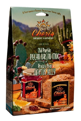 Image For Cheri's Desert Harvest: Old Peuble Pecan Bread Mix