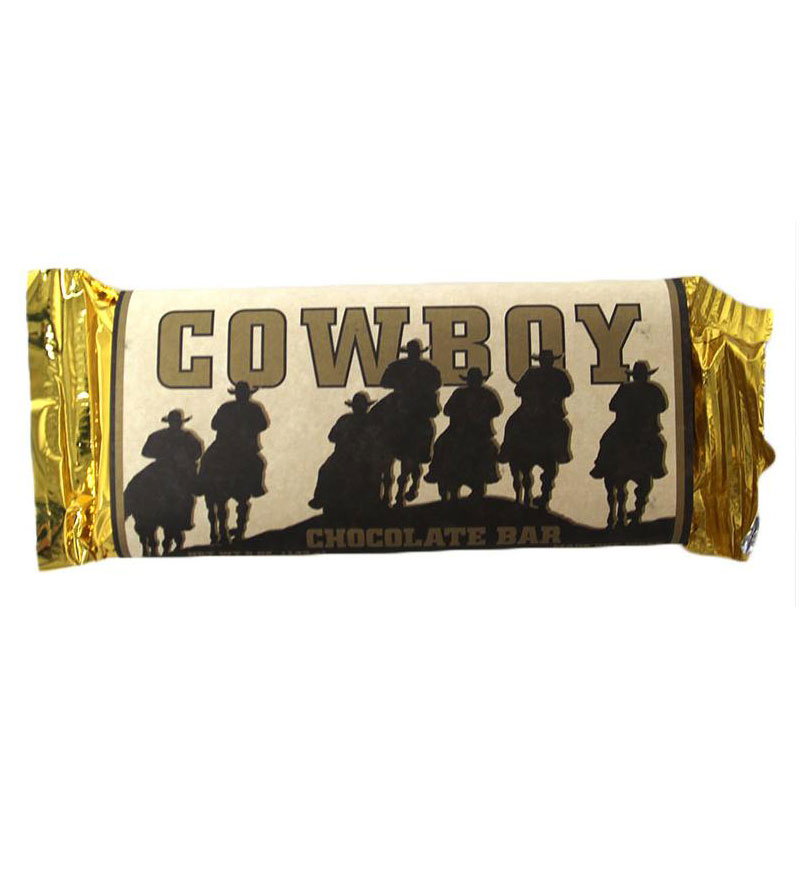 Image For Cowboy Chocolate Bar