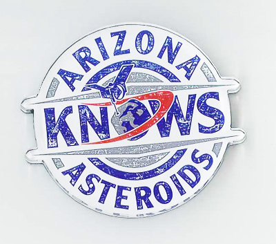Cover Image For Arizona Knows Asteroids Magnet