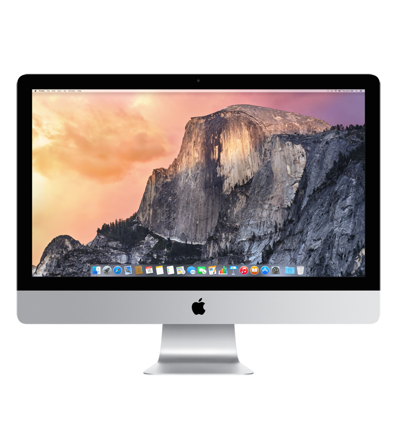 Image For iMac 27-inch (2014): 3.5GHz with Retina 5K Display