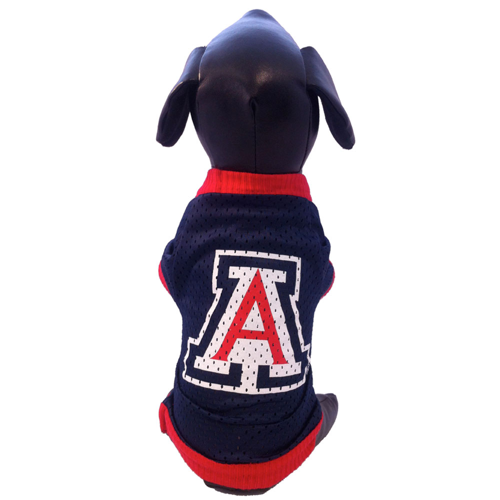 Image For University of Arizona Wildcats Athletic Mesh Dog Jersey