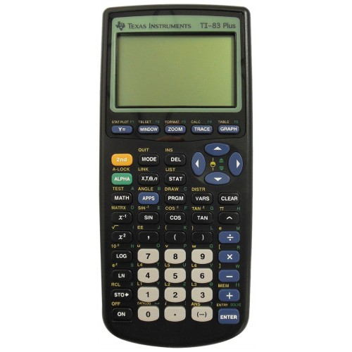 Image For Texas Instruments: TI-83 Plus Calculator